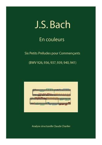 Bach en Couleurs (6 préludes) - Analyse Musicale - CHARLIER C. - front page
