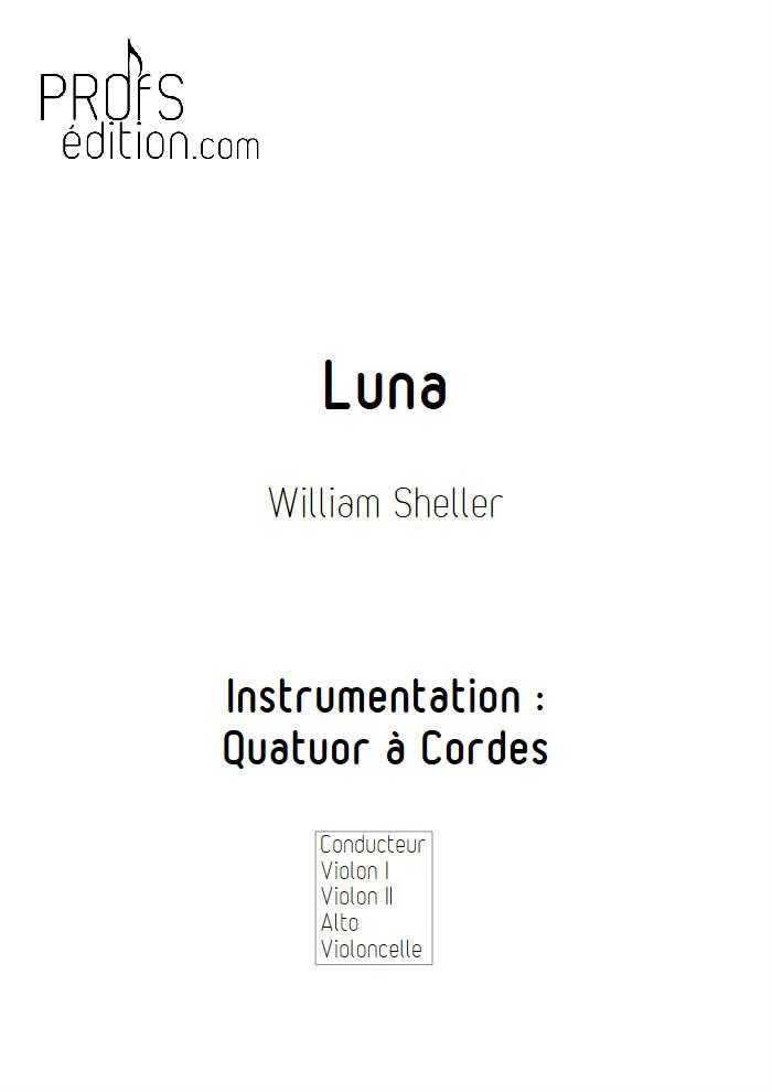 Luna - Quatuor à Cordes - SHELLER W. - front page