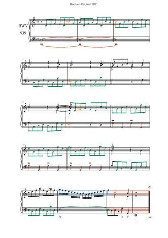 Bach en Couleurs (6 préludes) - Analyse Musicale - CHARLIER C. - app.scorescoreTitle