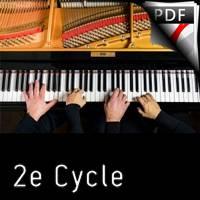 20 doigts pour 1 ragtime - Piano 4 mains - BUREL D.