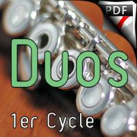 38 Chants et Comptines - Duos de Flûtes - TRADITIONNEL