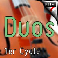 38 Chants et Comptines - Duos de Violoncelles - TRADITIONNEL