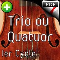 La Perdriole - Trio ou Quatuor Violoncelles - TRADITIONNEL