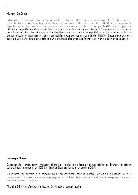78651 - Orchestre d'Harmonie - SOULAT D. - Educationnal sheet