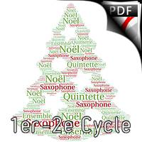 7 Chansons de Noël - Quintette de Saxophones - TRADITIONNEL