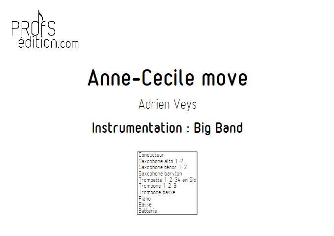 Anne-Cécile move - Big Band - VEYS A. - front page