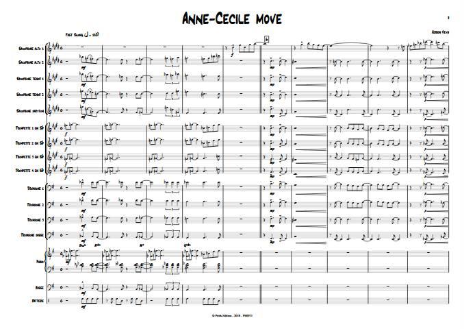 Anne-Cécile move - Big Band - VEYS A. - app.scorescoreTitle