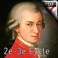 Adagio - Flûte et Guitare et Guitare - MOZART W. A.