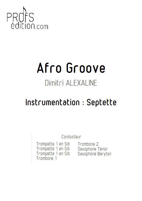 Afro Groove - Septet vents - ALEXALINE D. - front page