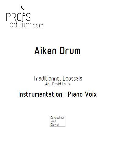 Aiken Drum - Piano Voix - TRADITIONNEL ECOSSAIS - front page