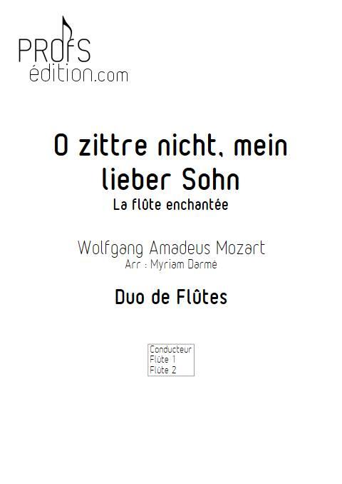 Air de la Reine de la nuit - Duo de Flûtes - MOZART W. A. - front page