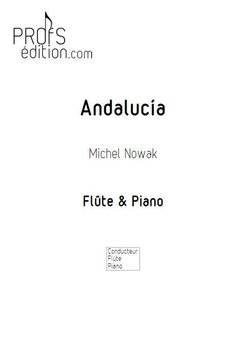 Andalucía - Flûte & Piano - NOWAK M. - front page