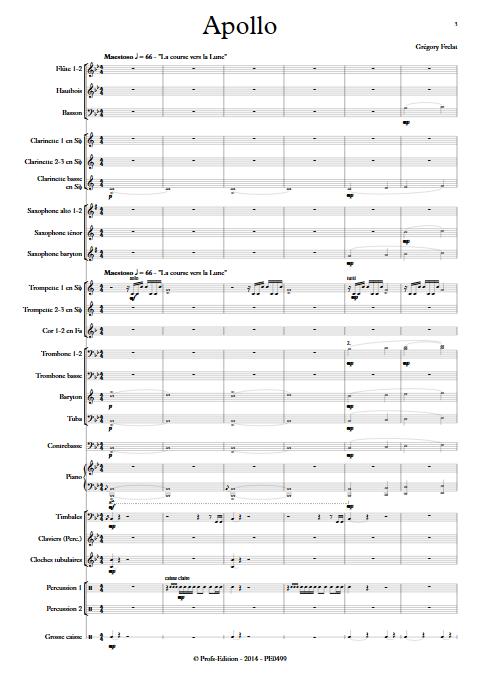 Apollo - Orchestre d'Harmonie - FRELAT G. - app.scorescoreTitle