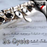 Aria - Duo Flûte et Piano - ROUSSEL A.