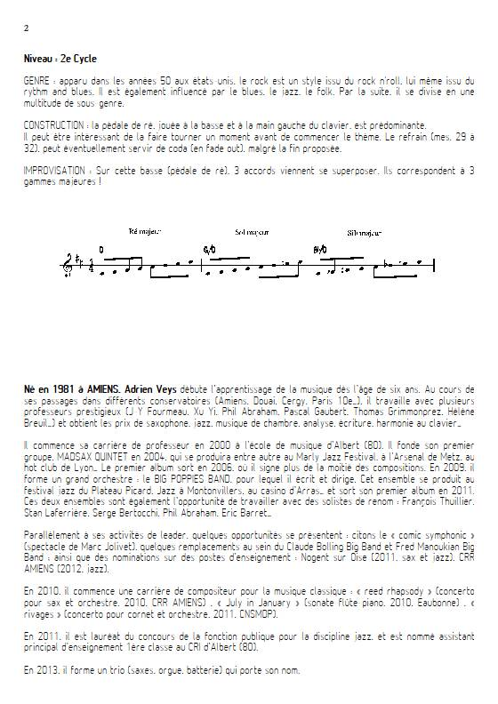 At last - Quatuor de Flûtes - VEYS A. - Educationnal sheet
