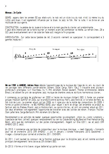 At last - Quatuor de Saxophones- VEYS A. - Educationnal sheet