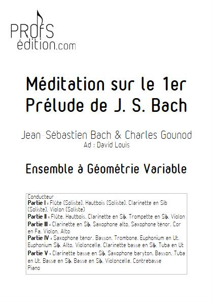 Ave Maria - Ensemble Variable - BACH GOUNOD - front page