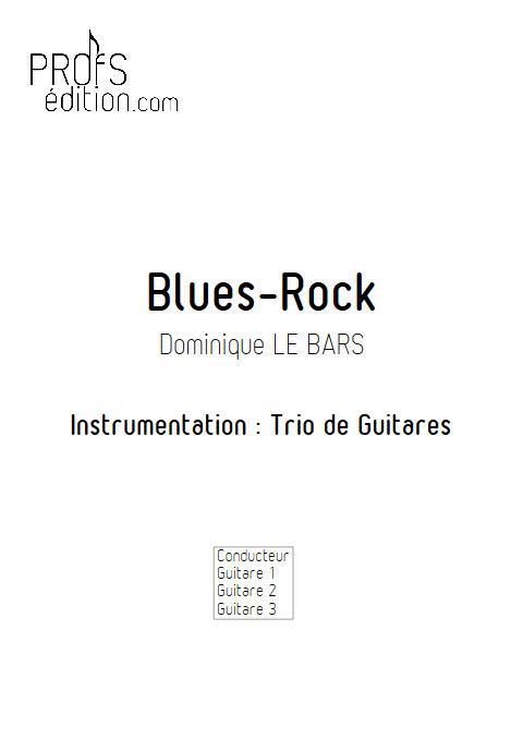 Blues-Rock - Trios Guitare - LE BARS D. - front page