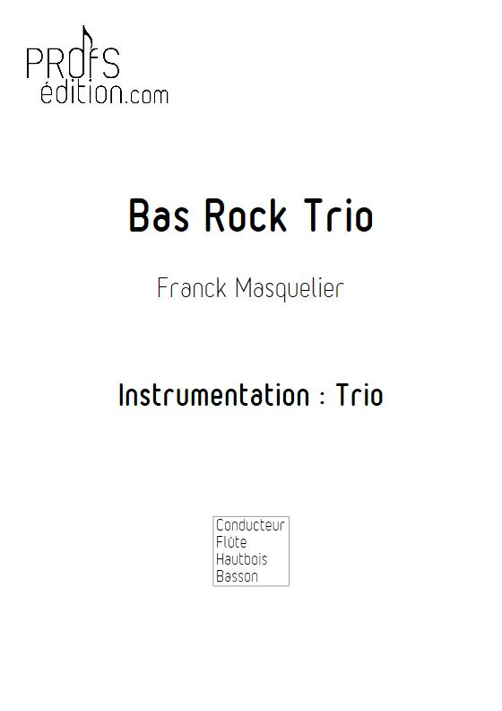 Bas Rock Trio - Trio - MASQUELIER F. - front page
