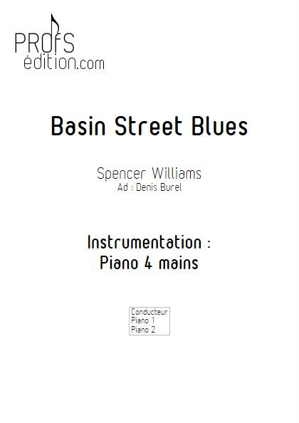 Basin Street Blues - Duo Piano - WILLIAMS S. BUREL D. - front page