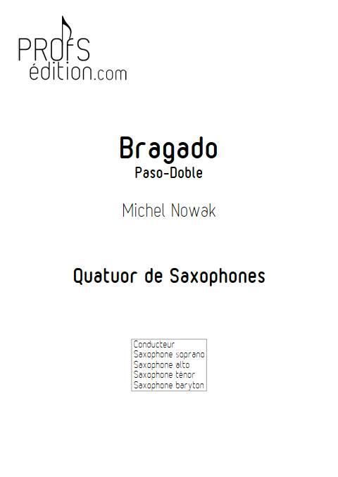Bragado - Quatuor de Saxophones - NOWAK M. - front page