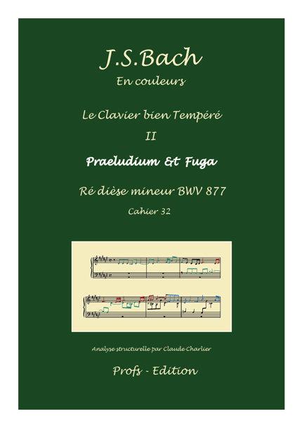 Clavier Bien Tempéré 2 BWV 877 - Analyse - CHARLIER C. - front page