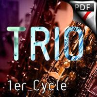 C'est la fête au bois - Trio de Saxophones - DEQUEANT B.