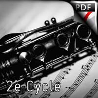 C'est ma clarinette - Quatuor de Clarinettes - DEQUEANT B.