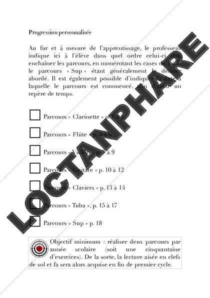Carnet de notes - Formation Musicale - KUNTZMANN S. - Educationnal sheet
