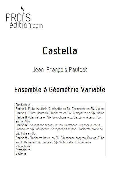 Castella - Ensemble Variable - PAULEAT J. F. - front page
