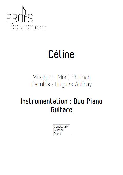 Céline - Duo Vibraphone et Piano - SHUMAN M. BUREL D. - front page