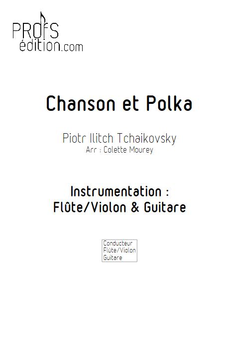 Chanson et Polka - Flûte et Guitare - MOUREY C. - front page