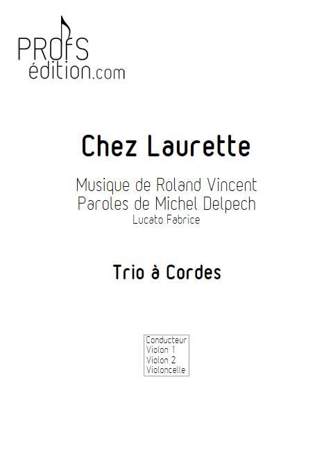 Chez Laurette - Trio à cordes - ROLAND V. - front page