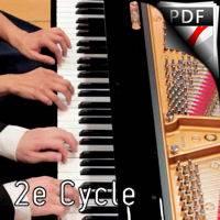 Comme une sonate à Ludwig - Piano 4 Mains - BUREL D.