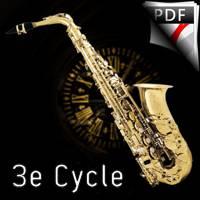 Compte à rebours - Saxophone & Piano - LIBOUREL L.