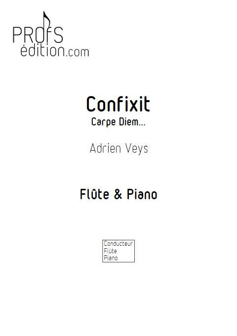 Confixit - Flûte Piano - VEYS A. - front page