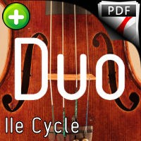 5 Inventions - Duo Violons - BACH J. S.