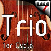 Blouson - Trio de Violons - TROTOUX J. M.
