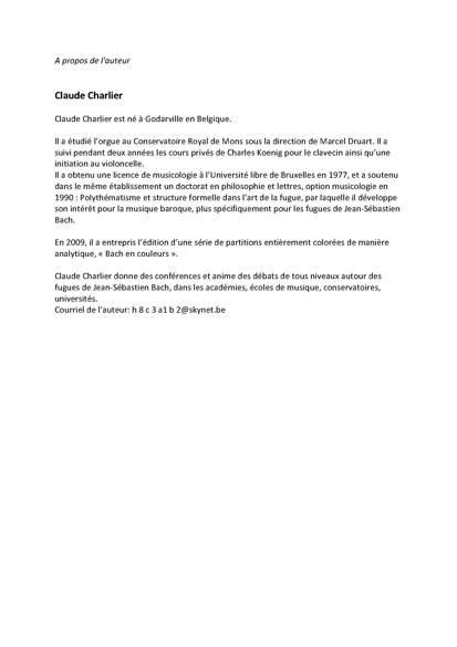 Obras de musica para tecla, arpa y vihuela - Poster - CHARLIER C. - Educationnal sheet
