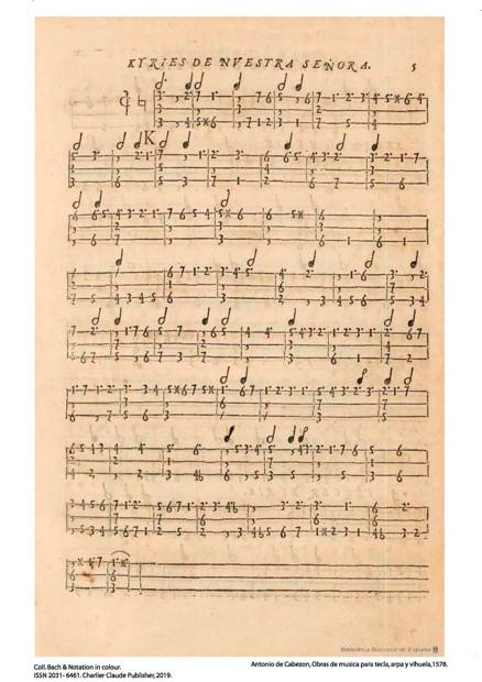 Obras de musica para tecla, arpa y vihuela - Poster - CHARLIER C. - app.scorescoreTitle