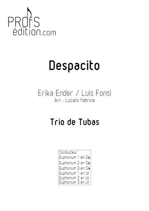 Despacito - Trio de Tubas - FONSI L. - front page