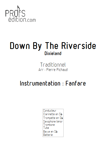 Down by the riverside- Fanfare - TRADITIONNEL - front page