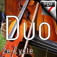 Danse hongroise n°5 - Duo Violon Violoncelle - BRAHMS J.