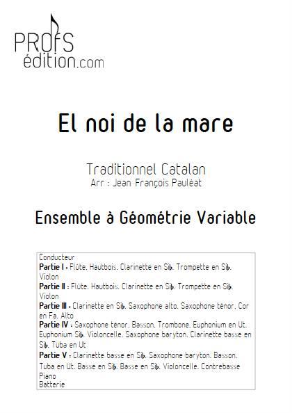 El noi de la mare - Ensemble Variable - TRADITIONNEL CATALAN - front page