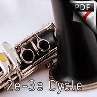 En saccade - Quatuor de Clarinettes - HORNER Y.