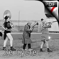 Fanfare Fellinienne - Quintette de Saxophones - DEQUEANT B.