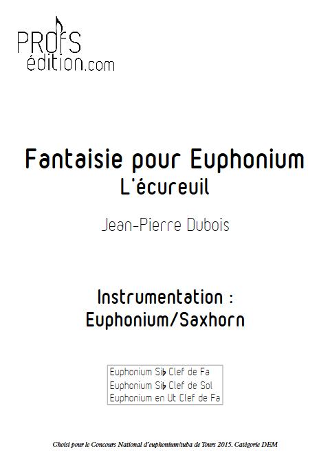 Fantaisie - Euphonium Solo - DUBOIS J-P - front page