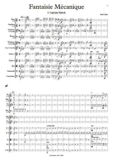 Fantaisie Mécanique - Orchestre Symphonique - COLLIN P. - app.scorescoreTitle