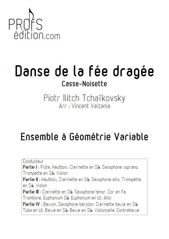 Danse de la fée dragée - Ensemble Variable - TCHAIKOVSKY P.I. - front page