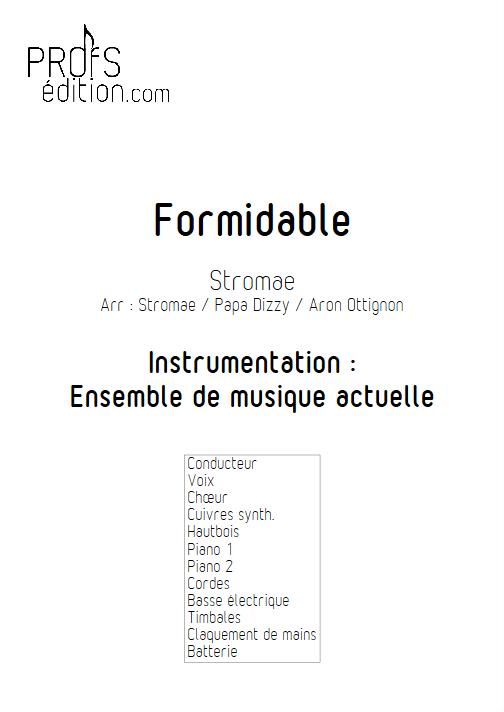 Formidable - Relevé Complet - STROMAE - front page